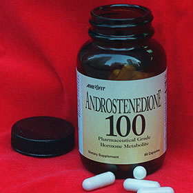 ANDROSTENEDIONE side effects - cancer - stunted growth