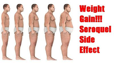 seroquel weight gain side effects