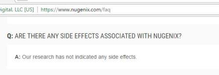 nugenix side effects good or bad