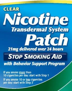 nicotine patch side effects